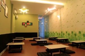 Hướng dẫn chọn giấy dán tường cho quán trà sữa