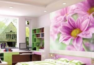 Gợi ý mẫu giấy dán tường cho phòng khách