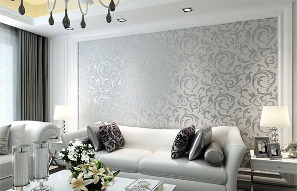 mẫu giấy dán tường phòng khách 3