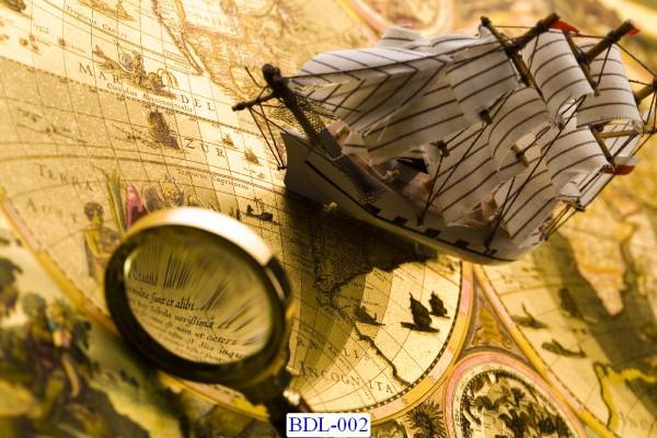 Trang dán tường Bản đồ và Du lịch mã BDL-102