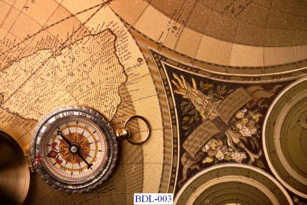 Trang dán tường Bản đồ và Du lịch mã BDL-103