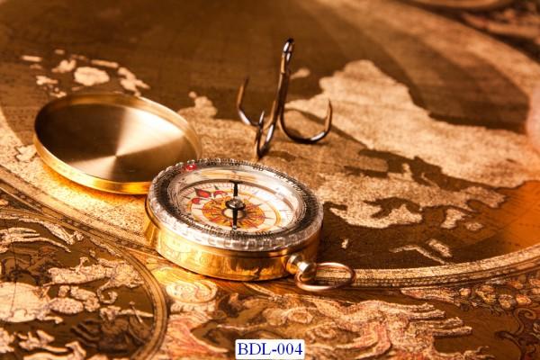 Trang dán tường Bản đồ và Du lịch mã BDL-104