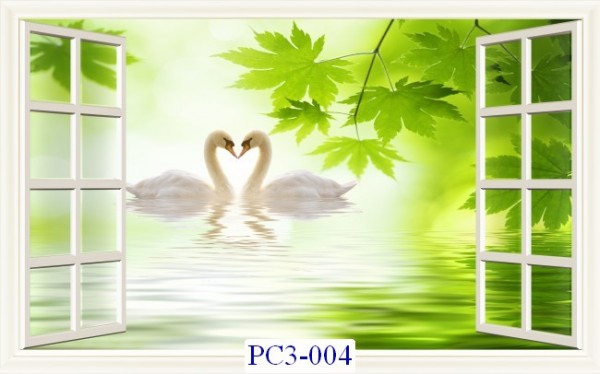 Tranh dán tường Phong cảnh 3D Mã PC3-004