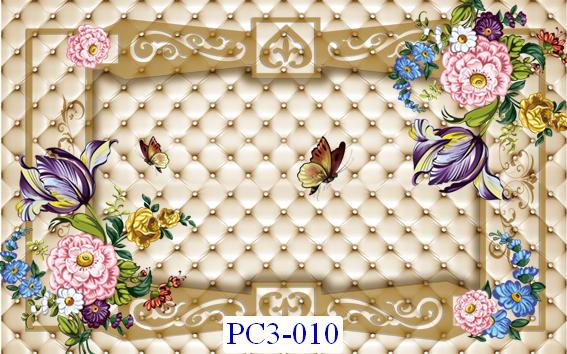 Tranh dán tường Phong cảnh 3D Mã PC3-010