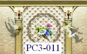 Tranh dán tường Phong cảnh 3D Mã PC3-011