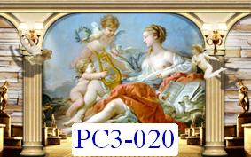 Tranh dán tường Phong cảnh 3D Mã PC3-020