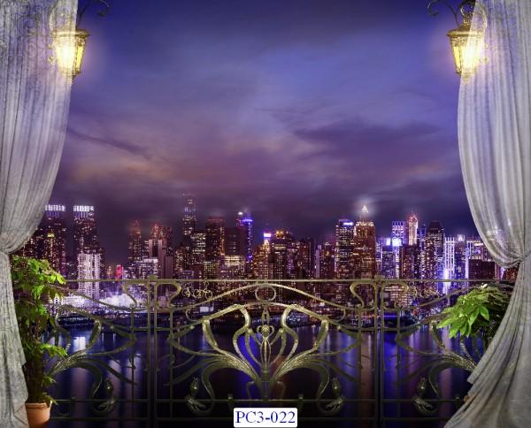 Tranh dán tường Phong cảnh 3D Mã PC3-022