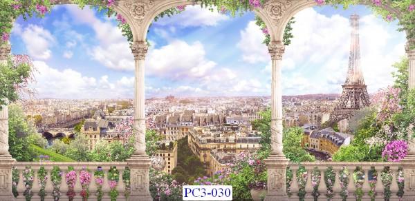 Tranh dán tường Phong cảnh 3D Mã PC3-030