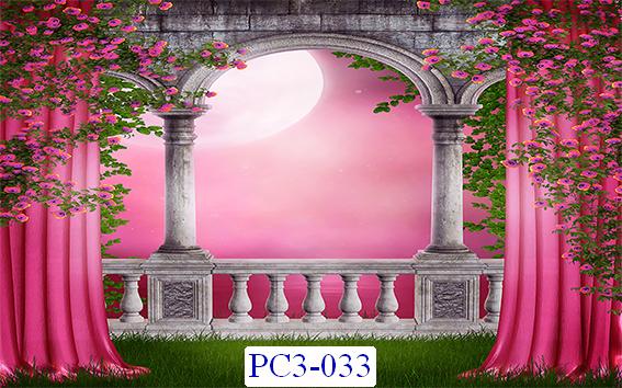 Tranh dán tường Phong cảnh 3D Mã PCC-033