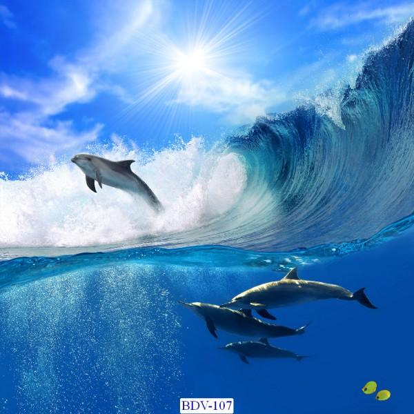 Tranh dán tường Động vật biển Mã BDV – 107