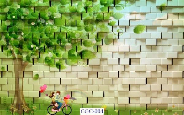 Tranh dán tường Cây cối Mã CGC- 004