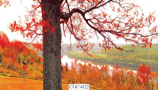 Tranh dán tường Cây cối Mã CGC- 022