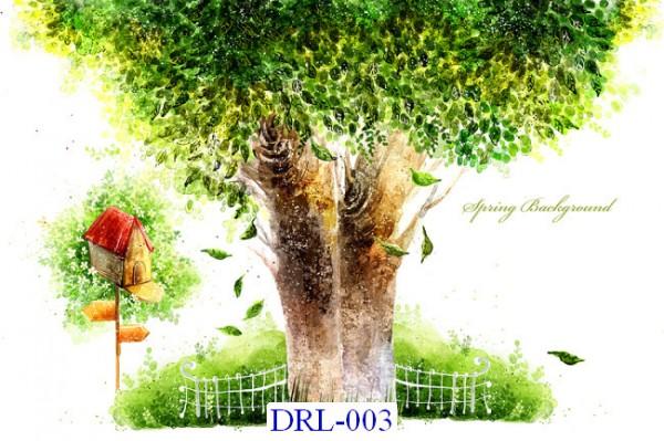 Tranh dán tường DreamLand Lãng mạn Mã DRL – 003