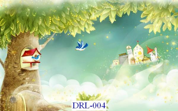 Tranh dán tường DreamLand Lãng mạn Mã DRL – 004