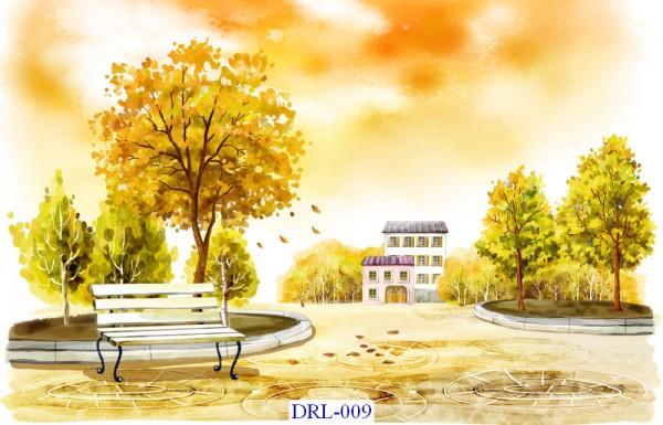 Tranh dán tường DreamLand Lãng mạn Mã DRL – 009