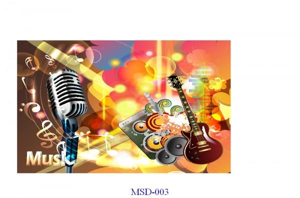 Tranh dán tường Music Mã MSD – 003