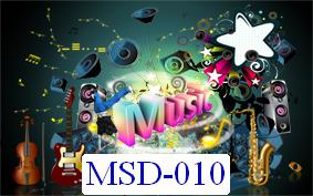 Tranh dán tường Music Mã MSD – 010
