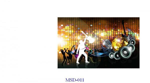 Tranh dán tường Music Mã MSD – 011
