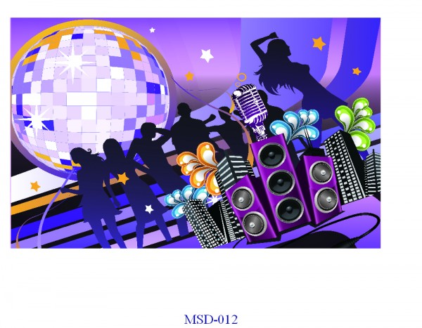 Tranh dán tường Music Mã MSD – 012