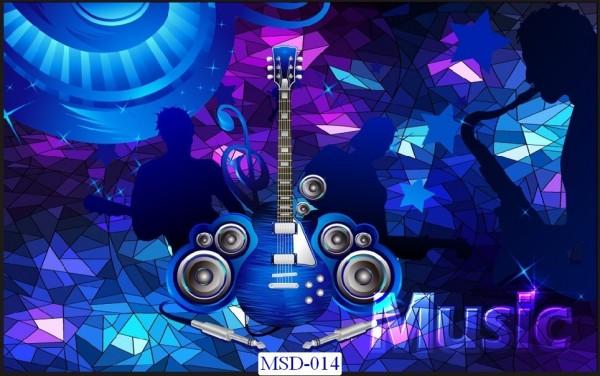 Tranh dán tường Music Mã MSD – 014