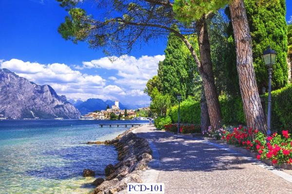 Tranh dán tường Phong cảnh đẹp Mã PCD – 101