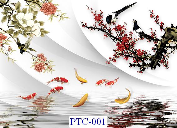 Tranh dán tường Tranh Ngọc Mã PTC – 001