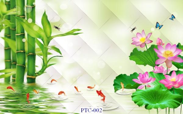 Tranh dán tường Tranh Ngọc Mã PTC – 002