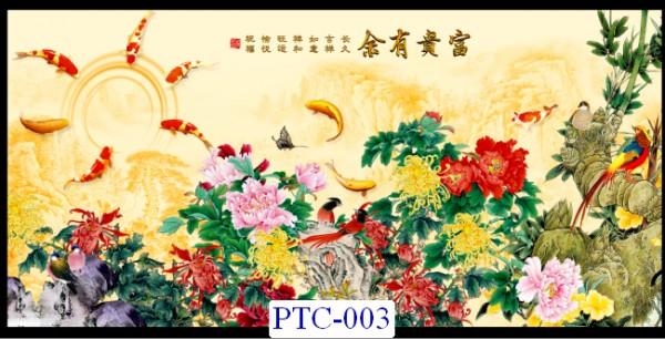 Tranh dán tường Tranh Ngọc Mã PTC – 003