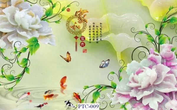Tranh dán tường Tranh Ngọc Mã PTC – 009