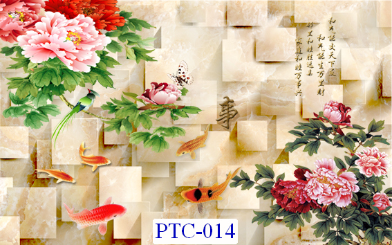 Tranh dán tường Tranh Ngọc Mã PTC – 014