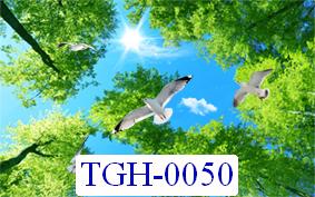 Tranh dán tường dán trần Mã TGH – 0050
