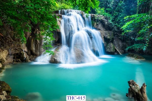 Tranh dán tường Thác nước mã THC – 015