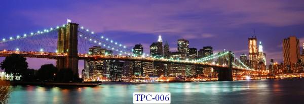 Tranh dán tường Thành phố chụp Mã TPC – 006