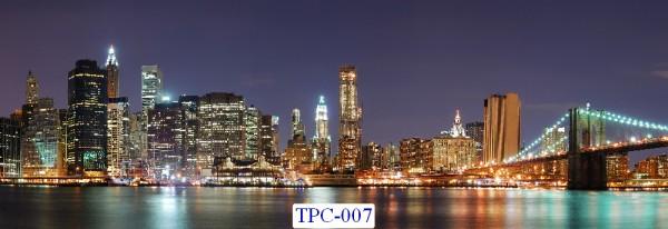 Tranh dán tường Thành phố chụp Mã TPC – 007